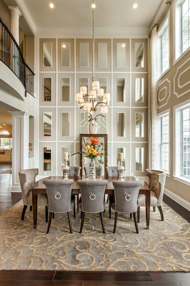 60 идей зеркальной стены в интерьере: расширяем пространство красиво http://happymodern.ru/zerkalnaya-stena/ Зеркала в гостиной классического стиля