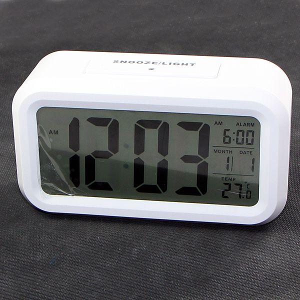 101PC Smart Light LCD Digital Alarm Clock