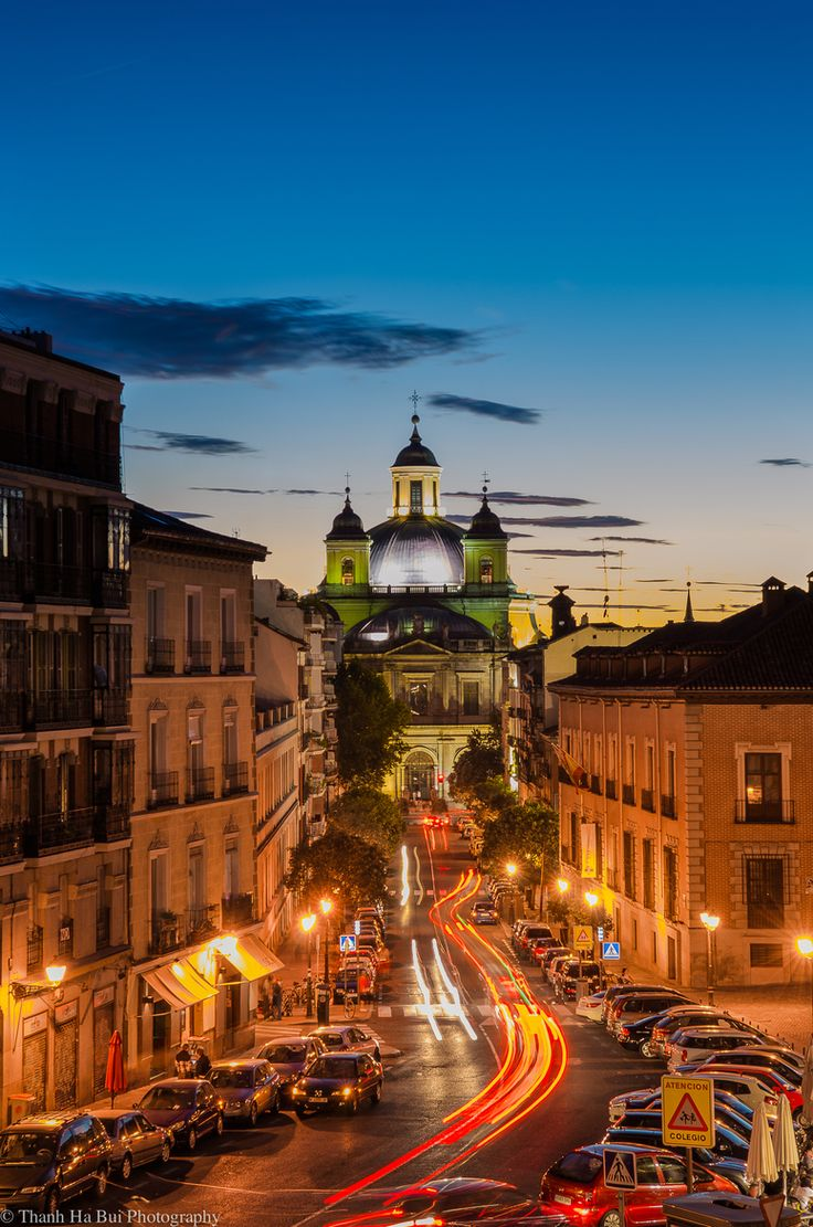 Madrid by Night, Spain