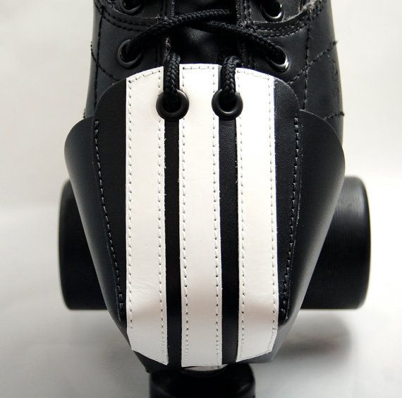 Leather Toe Guards with Ref Stripes.