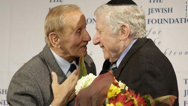 Sobreviviente del Holocausto reencuentra a su salvador - Internacionales, Noticias, Ticker - Diario Judío México