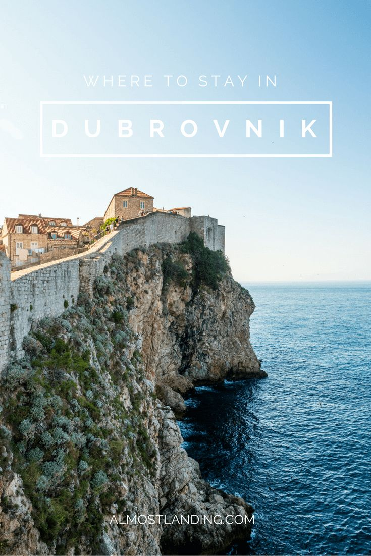 Where to stay in Dubrovnik Croatia: The best hotels in Dubrovnik, best areas to stay and how to book.