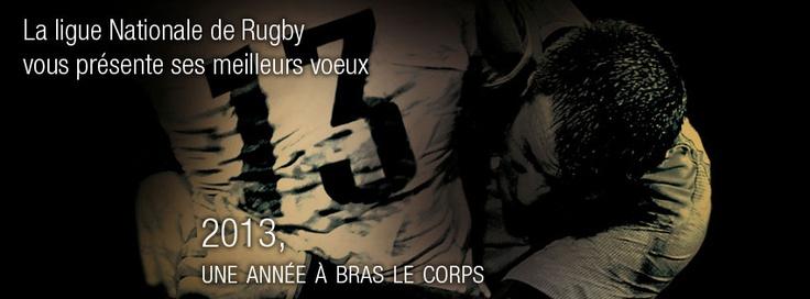 La Ligue nationale de rugby vous souhaite plein de bonheur pour 2013!: Vous Souhaite, Pour 2013, Nationale De, Ligue Nationale, Bonheur Pour, Ligu National, Souhaite Plein, Rugby, La Ligue