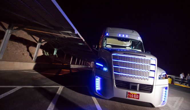 World's First Unmanned Freight Truck To Barrel Down America's Highways: Meet The Fully-Automated 'Inspiration Truck'