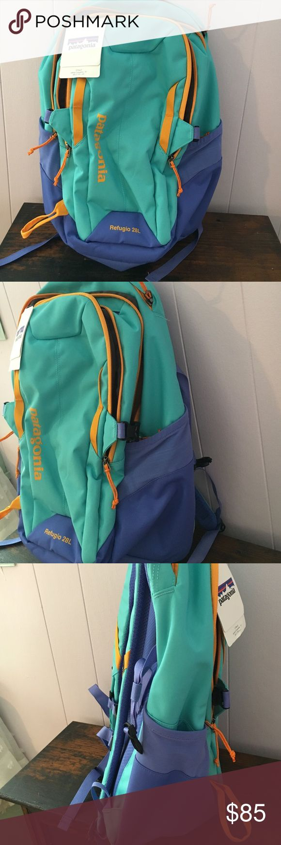 NEW WITH TAGS PATAGONIA BACKPACK Patagonia Refugio 28L backpack. New with tags I just wanted something bigger for school and this backpack didn't work out. Patagonia Bags Backpacks