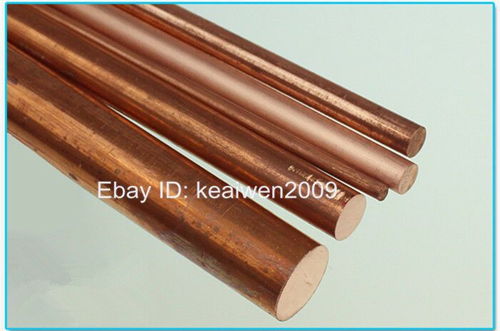 5pc Φ6mm T2 Copper Round Rod Pure D6mm AnyLength Solid Lathe Bar Cut Stock Metal