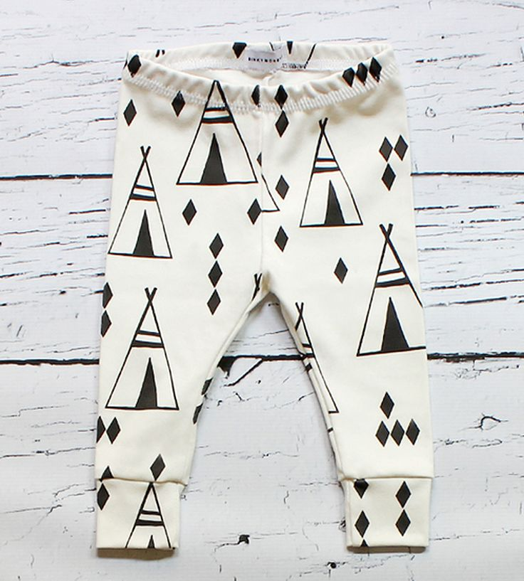 Teepee Baby Leggings | Dress up your little one in his (or her) own exploring gear ne... | Baby & Toddler Bottoms