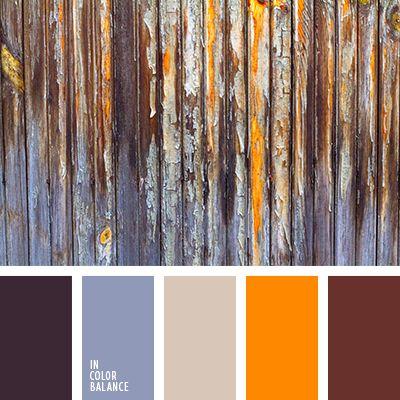 anaranjado, anaranjado vivo, burdeos, casi negro, color contrastante, color herrumbre, color vino, cremoso, de color violeta, elección del color, selección de colores para el hogar.