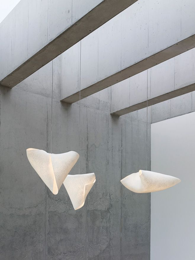 Ballet is a new pendant lamp collection designed by héctor serrano from the experimentation with simetech