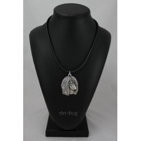 Necklase covered with thin layer of silver (2)