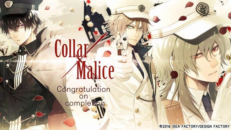Aiji Yanagi,Yuzuru Saeki and Rei Mikuni 【Collar×Malice】