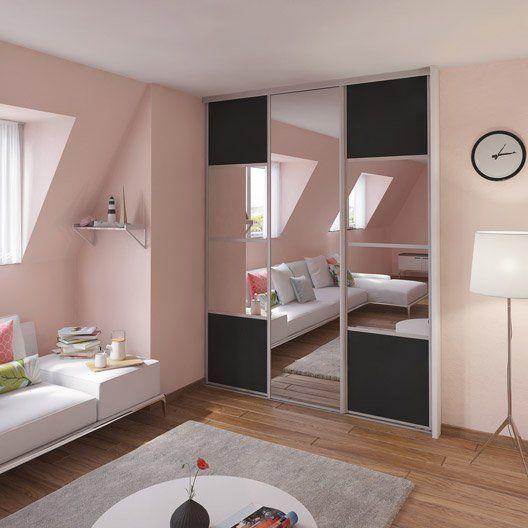 17 meilleures id es propos de porte coulissante miroir for Portes de placard coulissantes miroir