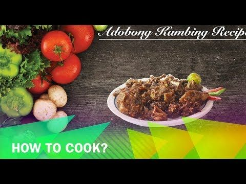 Adobong Kambing Recipe         |          Buhay Kusina    Adobong Kambing or Goat Meat Adobo Recipe is lutong pinoy dish using goat meat as the main ingredient wherein the goat meat is tenderized and cooked in adobo way using the vinegar, soy sauce and water.