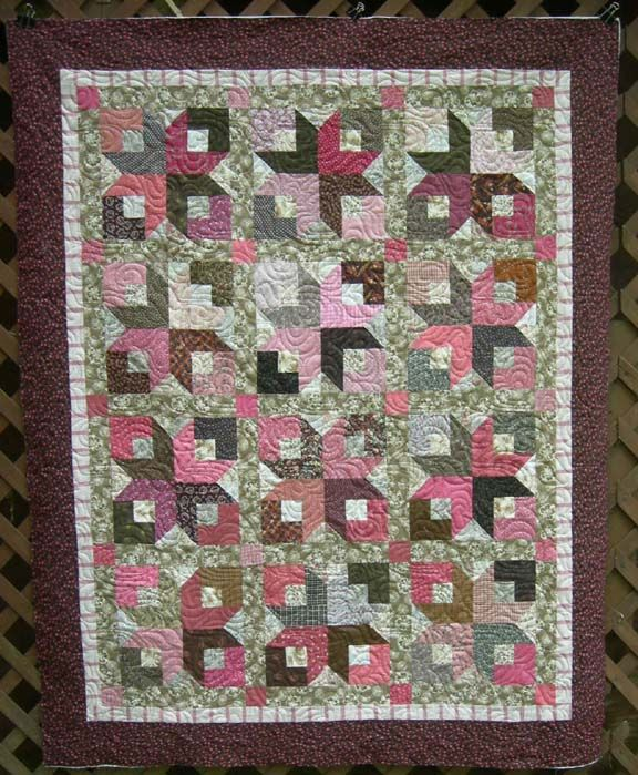 """FREE pattern: """"Boxy Stars"""" (from Quiltville's Quips & Snips by Bonnie K. Hunter)"""