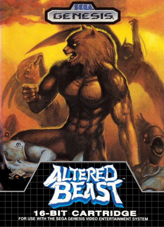 Altered Beast - Sega Megadrive / Genesis (1988)