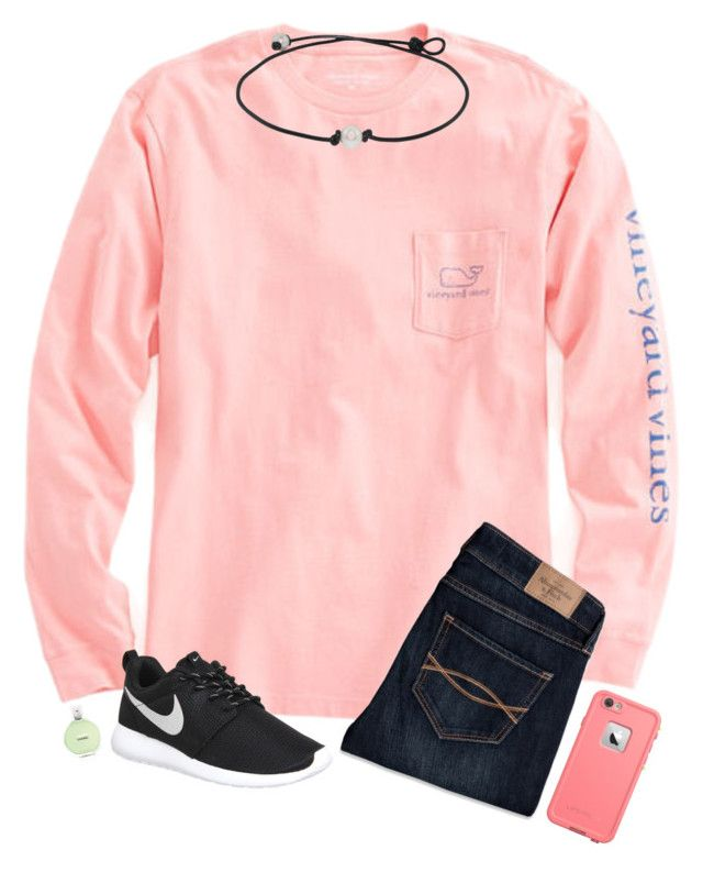 """Vineyard Vines, Chanel, and Nike!"" by hopemarlee ❤ liked on Polyvore featuring Vineyard Vines, Abercrombie & Fitch, NIKE and Chanel"