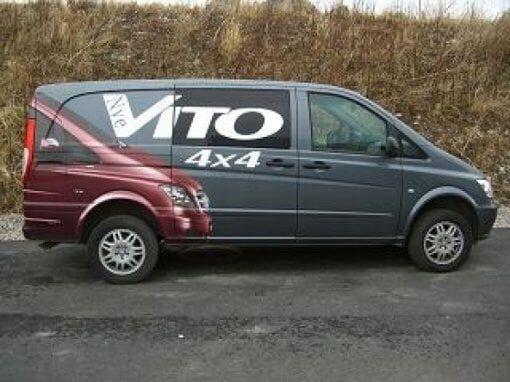 Photo Mercedes Vito V116 4x4 A2
