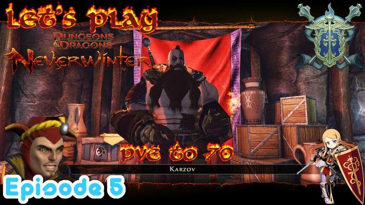 Cornering Karzov  - Neverwinter Xbox one paladin PvE to 70 episode 4