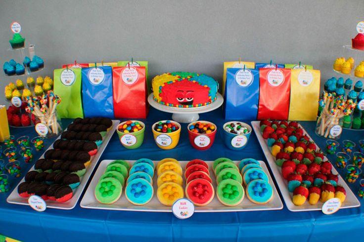 decoração de festa infantil divertida mente - Pesquisa Google