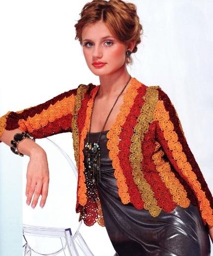 Women fashion: free crochet patterns