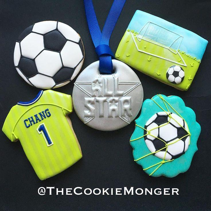 Soccer Ball Icing Decorations Custom Best 25 Soccer Cookies Ideas On Pinterest  Soccer Supplies Decorating Design