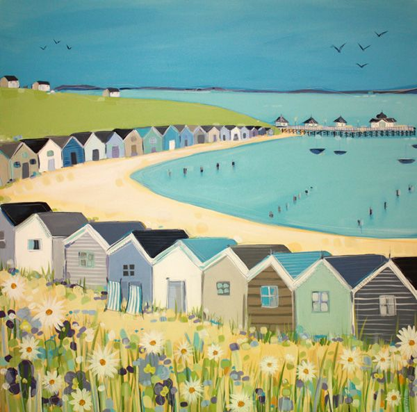 Janet Bell beach huts