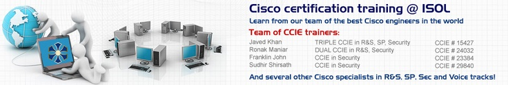 Cisco Systems is recognized as world leaders in providing advanced technologies in the field of Information and Technology today. These technologies require the proficiency and skill of trained professionals and CISCO provides a perfect solution in the form of Cisco Career Certifications. for more info visit http://ipsol.in/cisco-training/