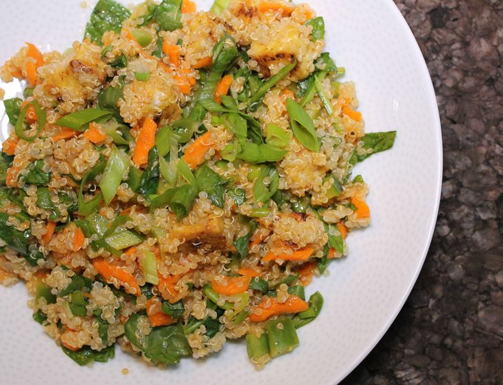 Buffalo Tempeh & Quinoa Salad- SoyandSugar.com