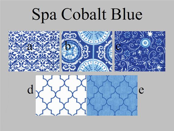 Curtain Panels Cobalt Blue Quatrafoil and by VylettClaireCurtains, $115.00  I am thinking the white with w/ blue -D?