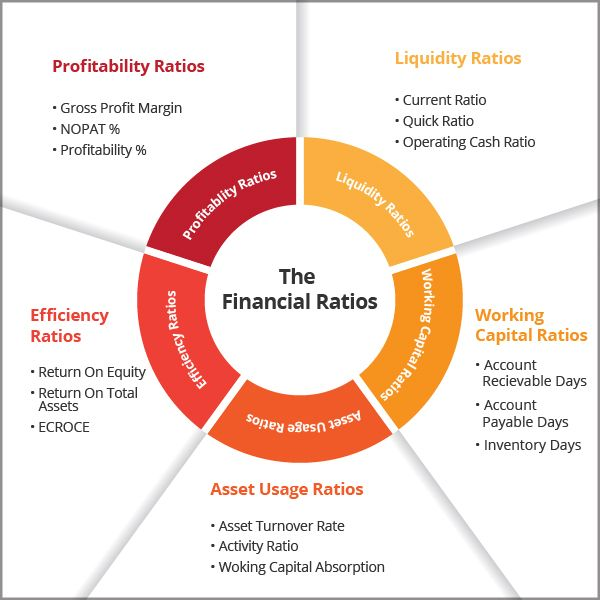 financial ratios and ratio