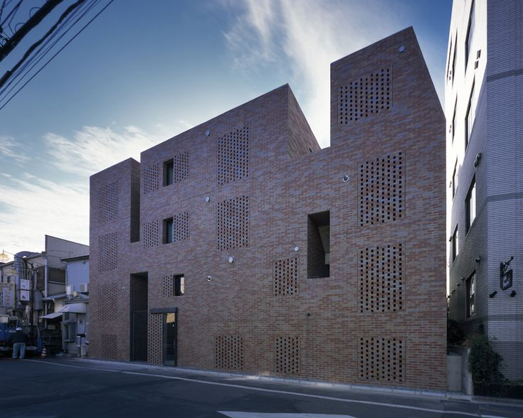 Built by Love Architecture in , Japan with date 2013. Images by Katsuhisa Kida. The site is in a city block between a highway and a shopping street and resembles a sandbank. In Syugoin, adjustment ...