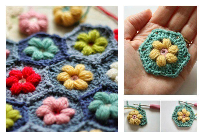 I've shared Daisies Flower Blanket in one of previous posts, which was well received by lots of readers. This is another beautiful daisy crocheting free pattern with detailed tutorial and instructions. With these lovely hexagons, you can make lots of things (blanket etc) by connecting them. Click below link for free pattern.. Daisy Puffagon Tutorial …