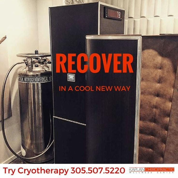 Recover in a cool new way with CryoTherapy at Kaplan Chiropractic Wellness Center! Call us to book your appointment today: 305-507-5220. ‪#‎CryoTherapy‬ ‪#‎MiamiBeach‬