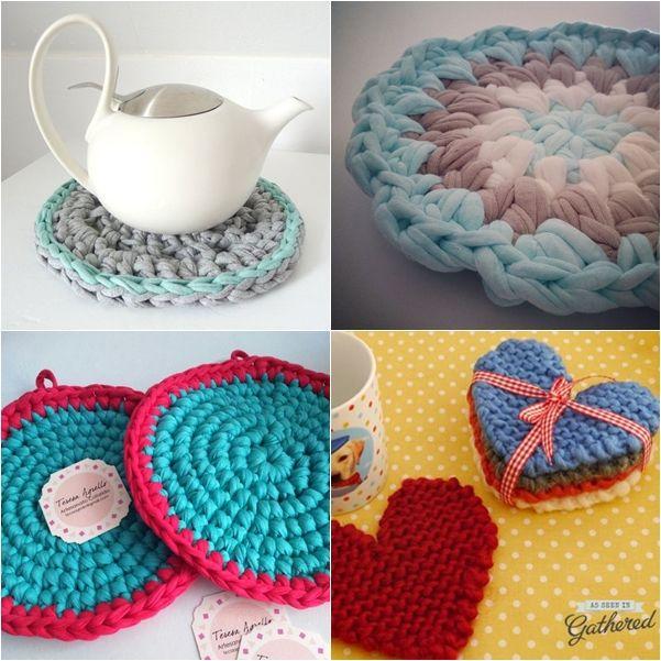 Eu já declarei aqui no blog, várias vezes, o meu amor pelo crochê. Agora, esse amor está ainda maior porque eu descobri o fio de malha. Na ...
