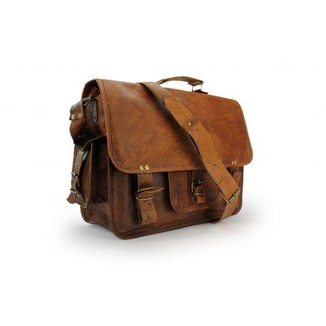 "Custodia in pelle computer portatile del 15 ""artigianale - Cintura - A.P.Donovan"