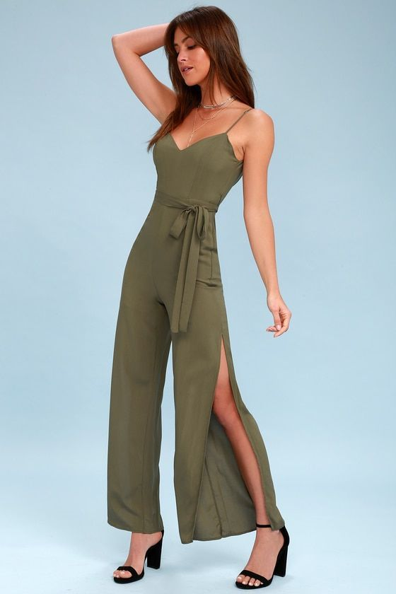 df2a74b6de07 WINNING CHIC OLIVE GREEN JUMPSUIT