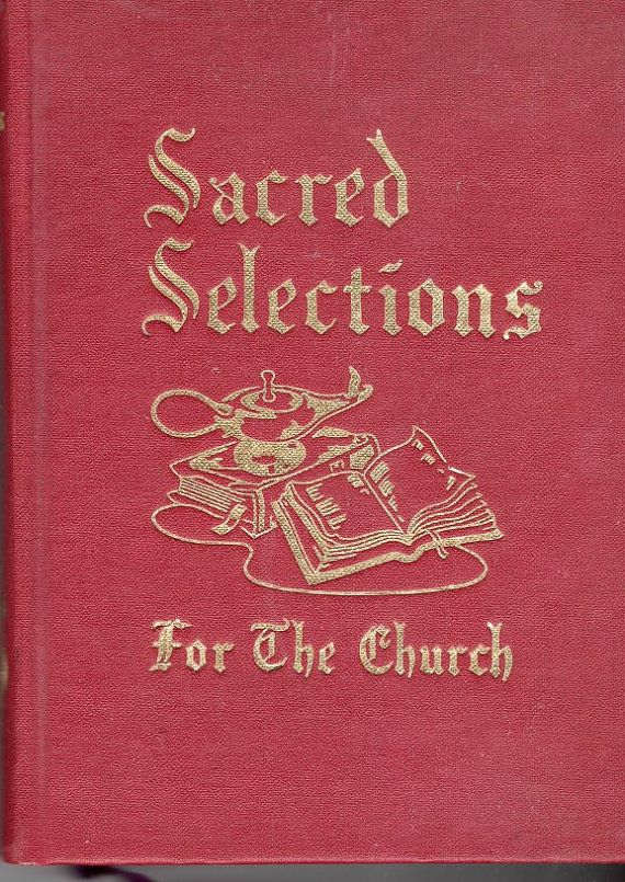 books sacred selections for the church