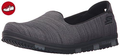 Skechers Damen Slipper Go Mini Flex Schwarz/Grau, Schuhgröße:EUR 37 - Skechers schuhe (*Partner-Link)