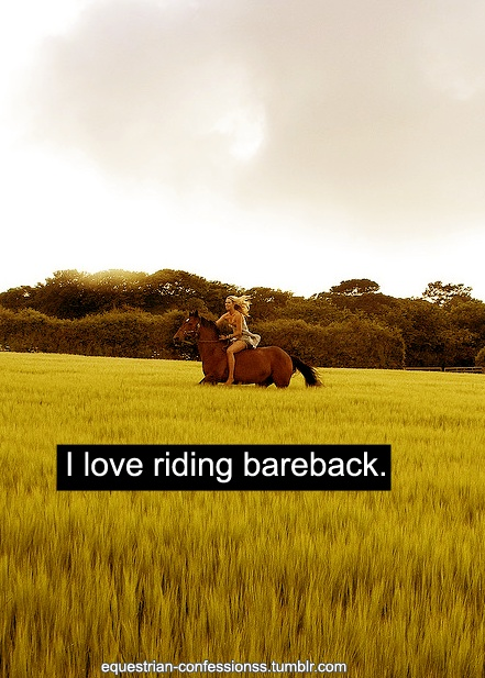 Best way to ride.