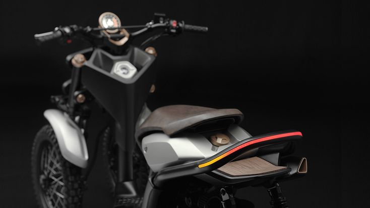 the yamaha 03GEN-X is a three-wheeled off-road scooter concept