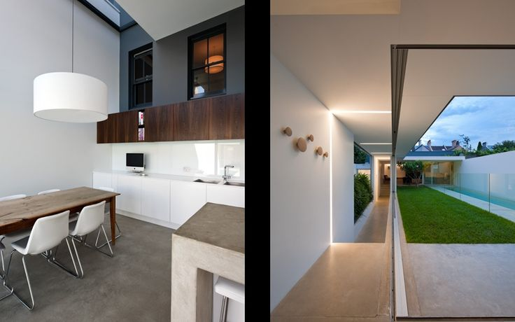 MCK - Sydney Architects / Projects / Paddingtonx2. Indoor/outdoor space, inner courtyard, pool