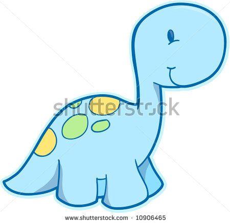 Baby+dino+drawing | Cute Dinosaur Vector Illustration - 10906465 : Shutterstock