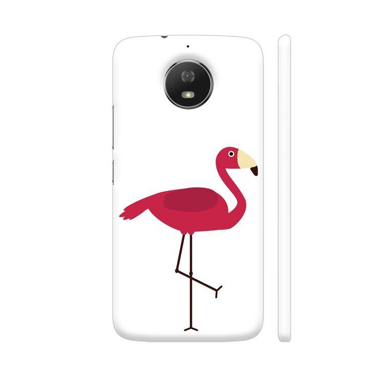 Pink Flamingo Moto G5S Cover | Artist: Torben