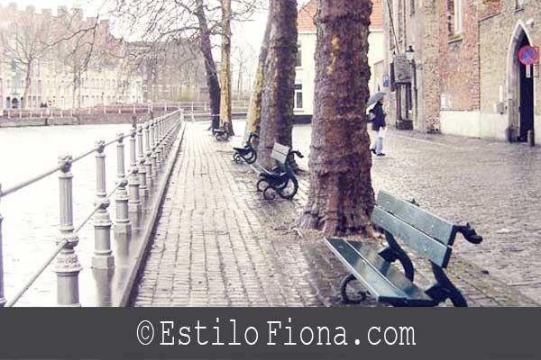 Destinos románticos para ir de viaje. Ciudad de Brujas en Bélgica.