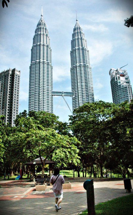 Twin Tower, KL, Malaysia April, 2010