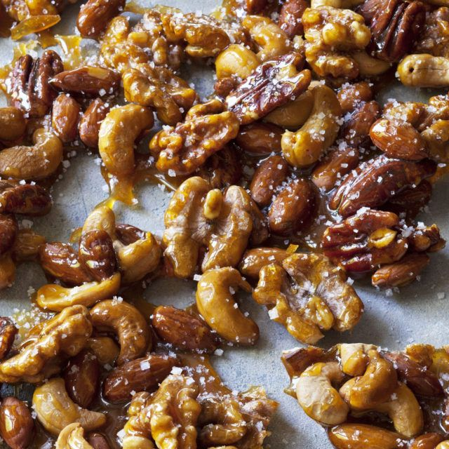Salted Caramel Nuts | Recipes | Barefoot Contessa