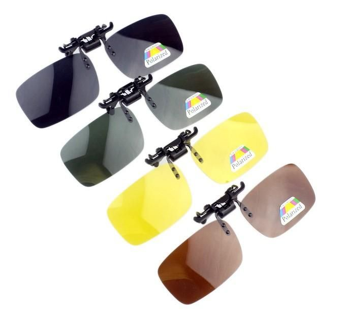 [Visit to Buy] with box packed wholesale sunglasses Polarized Clip for myopia short sight men and women driving uv400 #Advertisement