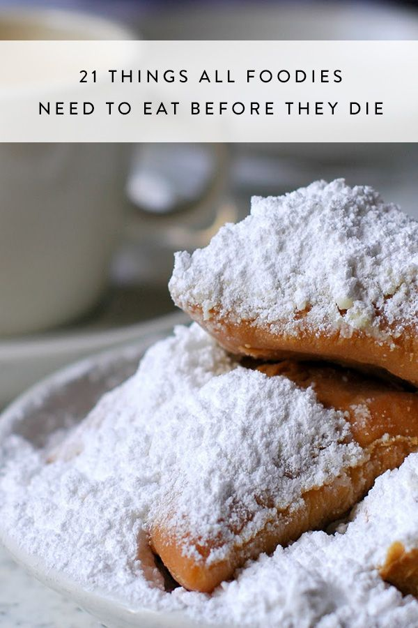 21 Things All Foodies Need to Eat Before They Die via @PureWow
