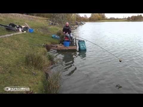 Pêche de la carpe au coup en bordure avec de l'amorce - Le Chasseur Français