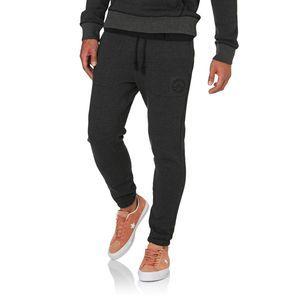 Converse Tracksuit Bottoms - Converse Woven Detail Fleece Jogger  - Black Black Heather